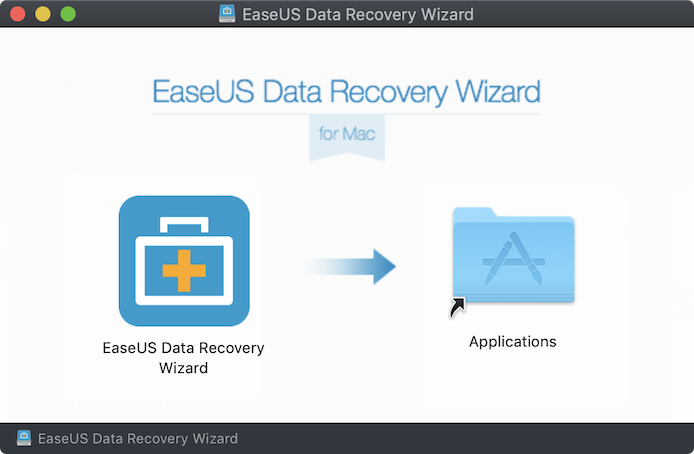 EaseUS Data Recovery Wizardインストール